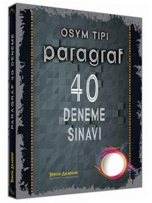 Tercih Akademi ÖSYM Tipi Paragraf 40 Deneme Sınavı