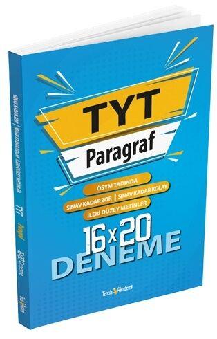 Tercih Akademi Yayınları TYT Paragraf 16 x 20 Deneme Komisyon