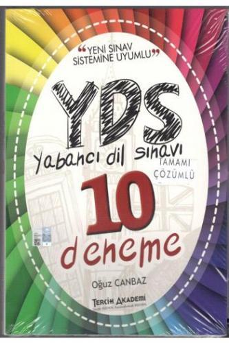 Tercih Akademi YDS Tamamı Çözümlü 10 Deneme - Oğuz Canbaz