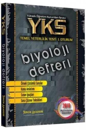Tercih Akademi YKS 1. Oturum TYT Biyoloji Defteri