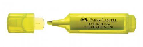 Faber-Castell Şeffaf Gövde Fosforlu Kalem Sarı
