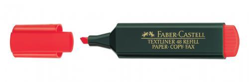 Faber-Castell Fosforlu Kalem Kırmızı