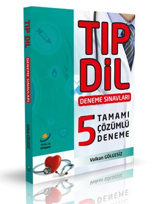 TIPDİL Tamamı Çözümlü 5 Deneme - Tercih Kitabevi
