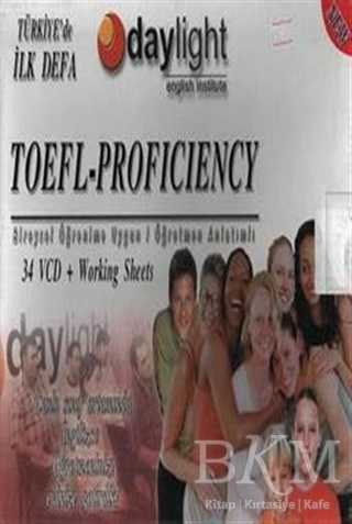 Toefl Proficiency Üniversite İngilizce Hazırlık Atlama Sınavı 34 VCD +1 KİTAP