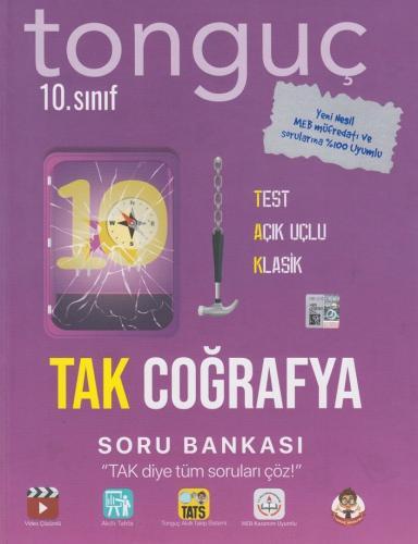 Tonguç Akademi 10. Sınıf TAK Coğrafya Soru Bankası