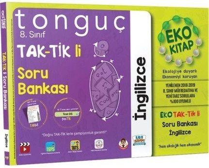 Tonguç 8. Sınıf İngilizce Taktikli Soru Bankası