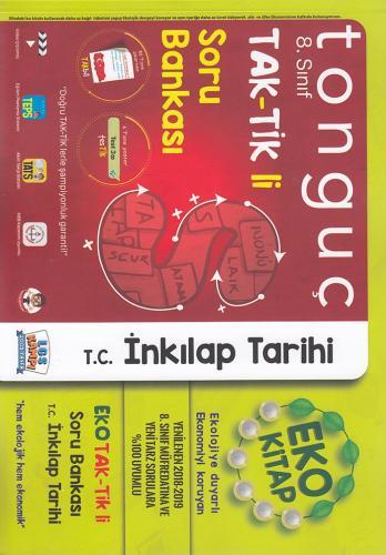 Tonguç Akademi 8. Sınıf TAK TİK li T.C. İnkılap Tarihi ve Atatürkçülük Soru Bankası Eko Kitap