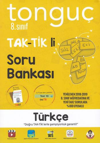 Tonguç 8. Sınıf Türkçe Taktikli Soru Bankası