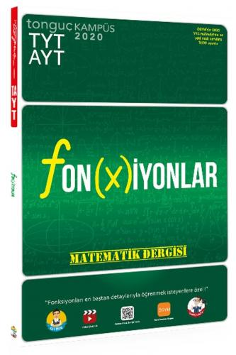 Tonguç Akademi TYT AYT Matematik Dergisi Fonksiyonlar Komisyon