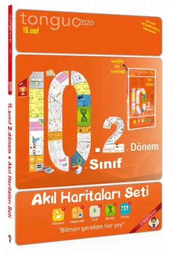Tonguç Akademi 10. Sınıf 2. Dönem Akıl Haritaları Seti