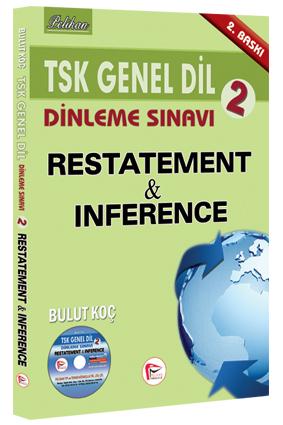 TSK Genel Dil Dinleme Sınavı 2 Restatement & Inference 2015 - Bulut Koç