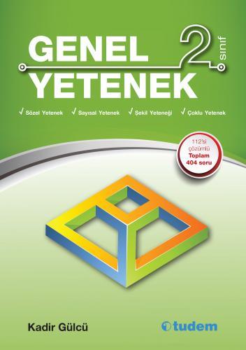 Tudem 2. Sınıf Genel Yetenek Kitabı