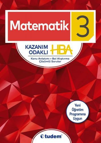 Tudem 3. Sınıf Matematik Kazanım Odaklı HBA
