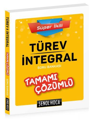 Şenol Hoca TYT Türev İntegral Tamamı Çözümlü Soru Bankası