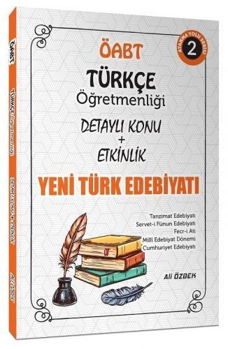 Ali Özbek 2021 ÖABT Türkçe Öğretmenliği Yeni Türk Edebiyatı Konu Anlat
