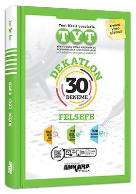 Ankara Yayıncılık TYT Felsefe Dekatlon 30 Deneme Video Çözümlü Komisyo