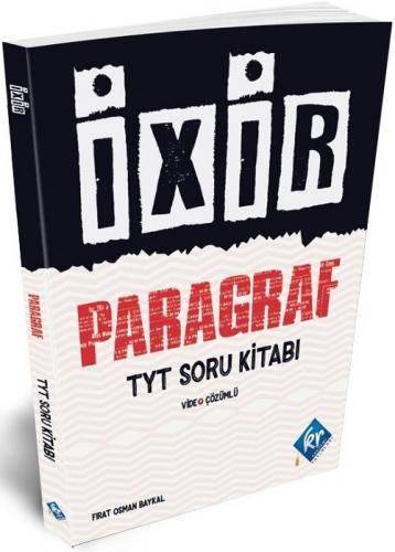 KR Akademi TYT Paragraf İxir Video Çözümlü Soru Kitabı Fırat Osman Bay