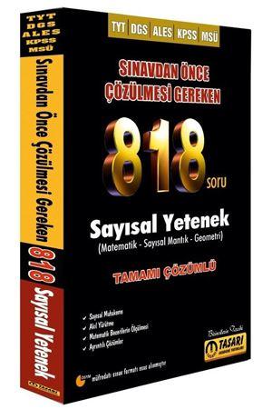 Tasarı Akademi DGS TYT ALES KPSS MSÜ Sınavdan Önce Çözülmesi Gereken 818 Sayısal Soru