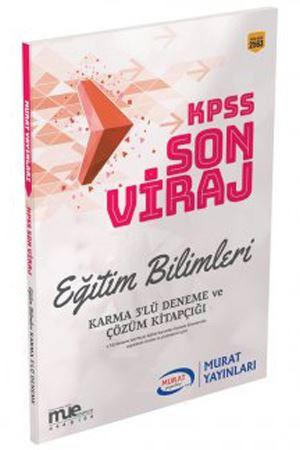Murat Eğitim KPSS Eğitim Bilimleri Son Viraj Karma 3 lü Deneme Seti ve