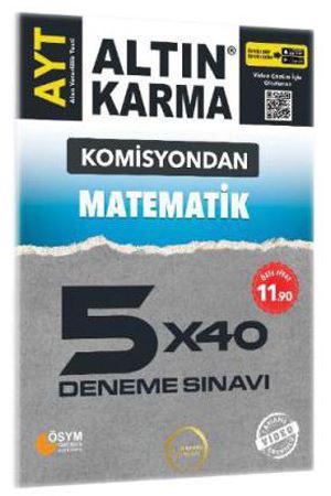 Altın Karma Komisyondan AYT Matematik 5x40 Deneme Sınavı