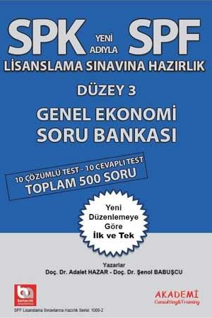 SPF Düzey 3 Genel Ekonomi Soru Bankası