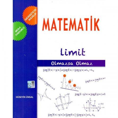 Üniversiteye Hazırlık Olmazsa Olmaz Matematik Limit Konu Anlatımlı Fasikül