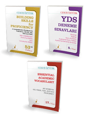YDS Tam Hazırlık Seti İngilizce Anlatımlı Gramer + Kelime + Deneme %37