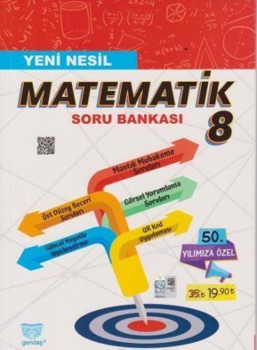Gendaş 8. Sınıf Matematik Yeni Nesil Soru Bankası