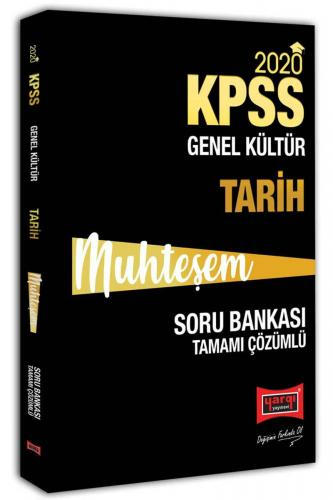 Yargı Yayınları 2020 KPSS Muhteşem Tarih Tamamı Çözümlü Soru Bankası