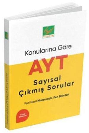 Özgül Yayınları AYT Sayısal Konularına Göre Çıkmış Sorular ve Çözümleri