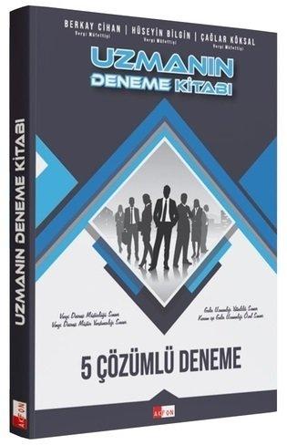 Akfon Yayınları 2021 GUY Gelir Uzman Yardımcılığı Uzmanın 5 Deneme Kit