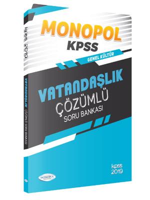Monopol KPSS Genel Kültür Vatandaşlık Çözümlü Soru Bankası 2019