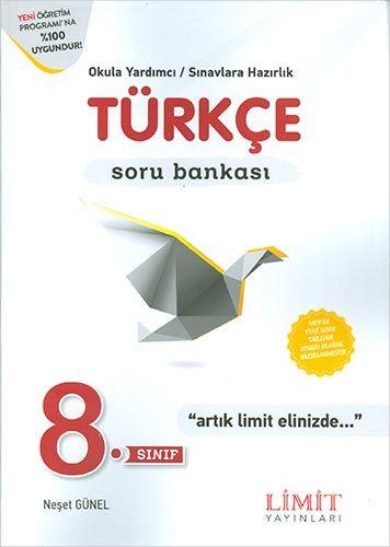 Limit 8. Sınıf Türkçe Soru Bankası