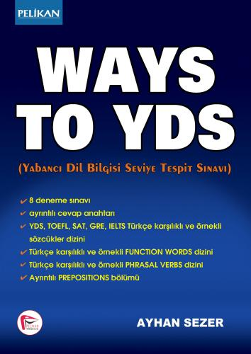 Ways to YDS - Ayhan Sezer