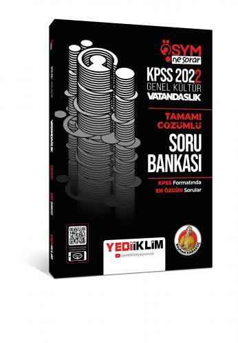 Yediiklim Yayınları 2022 KPSS Genel Kültür Ösym Ne Sorar Vatandaşlık T