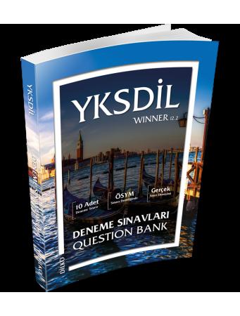 YKSDİL Winner 12.2 Deneme Sınavları Question Bank Kolektif