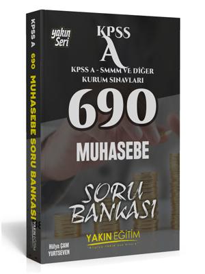Yakın Eğitim KPSS A 690 Muhasebe Soru Bankası
