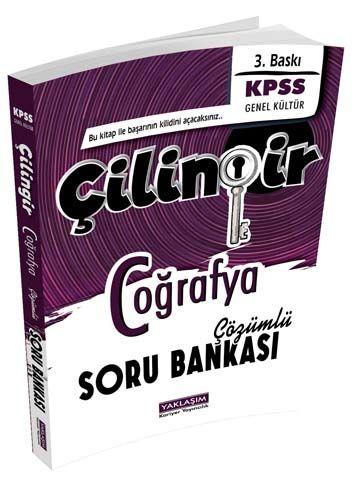 Yaklaşım Kariyer Yayınları KPSS Coğrafya Çilingir Çözümlü Soru Bankası