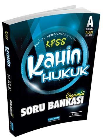 Yaklaşım Kariyer Yayınları KPSS A Kahin Hukuk Çözümlü Soru Bankası