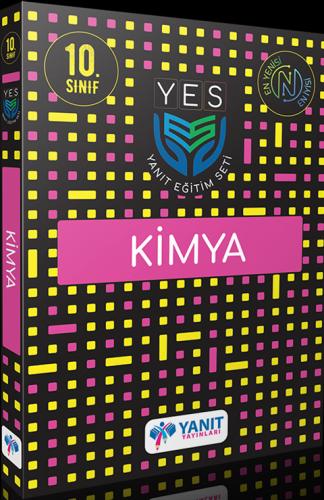 Yanıt Yayınları 10. Sınıf Yes Serisi Kimya