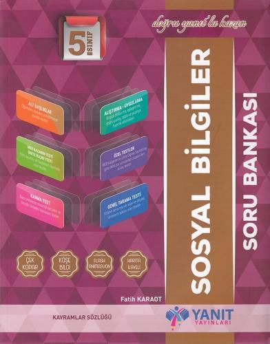 Yanıt 5. Sınıf Sosyal Bilgiler Soru Bankası
