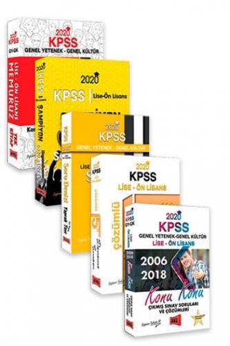 Yargı Yayınları 2020 KPSS Memuruz Lise Ön Lisans Genel Yetenek Genel Kültür Muhteşem 5 li Set