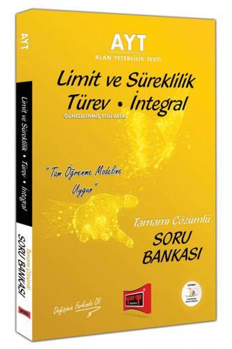 Yargı AYT Limit ve Süreklilik Türev İntegral Tamamı Çözümlü Soru Bankası