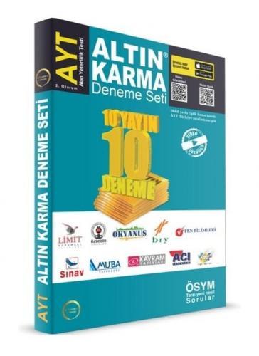 Altın Karma Yayınları 2020 AYT 10 Deneme Seti Video Çözümlü
