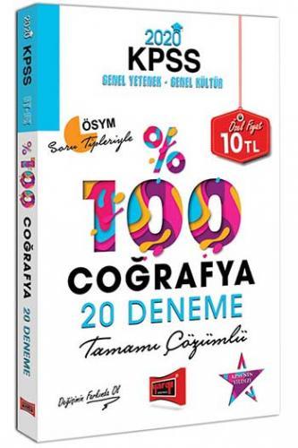 Yargı Yayınları 2020 KPSS Coğrafya Tamamı Çözümlü 20 Deneme %0 indirim