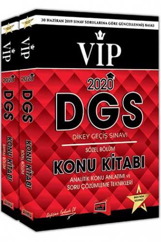 Yargı Yayınları 2020 DGS VIP Sayısal - Sözel Bölüm Konu Kitabı Seti
