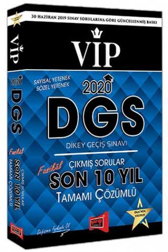 Yargı Yayınları 2020 DGS VIP Sayısal Sözel Yetenek Son 10 Yıl Tamamı Çözümlü Fasikül Çıkmış Sorular