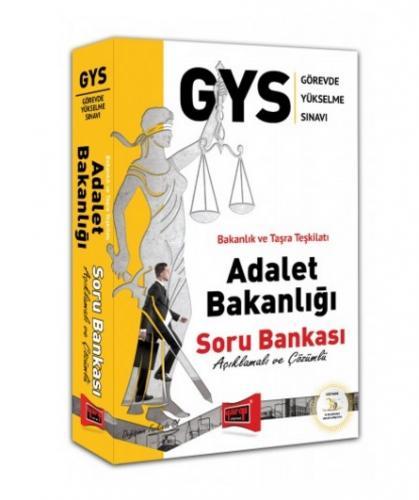 Yargı GYS Adalet Bakanlığı Açıklamalı ve Çözümlü Soru Bankası %25 indi