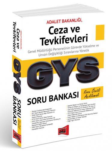 Yargı GYS Ceza ve Tevkifevleri Konu Özetli Açıklamalı Soru Bankası