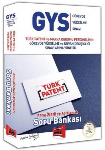 Yargı GYS Türk Patent ve Marka Kurumu Konu Özetli ve Açıklamalı Soru Bankası